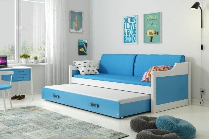 Otroška postelja Dawid - 80x190 cm z dodatnim ležiščem