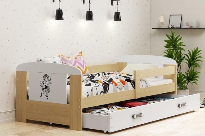 Otroška postelja Filip - 80x160 cm
