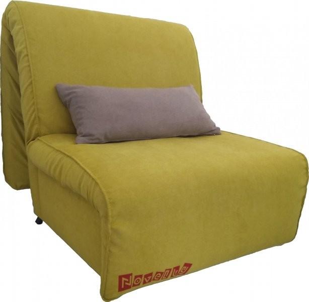 Fotelj z ležiščem Novelty rumen