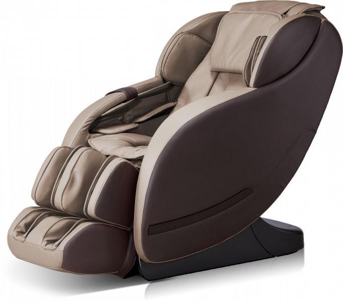 Masažni profesionalni fotelj Aviana siva+rjava