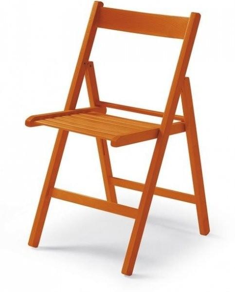 Stol Bunny oranžen