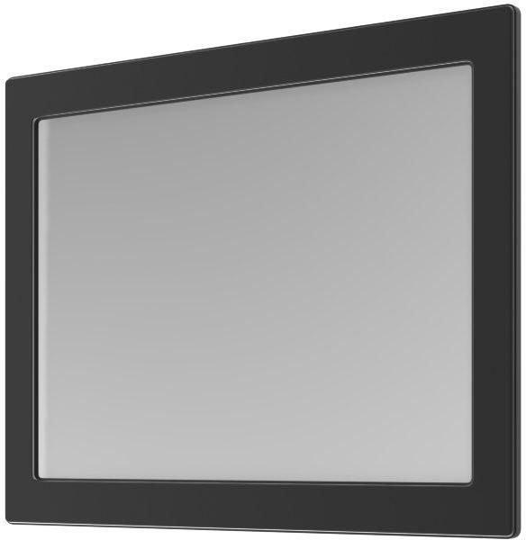 Ogledalo za kopalnico Beatrice - 100 cm črno krom
