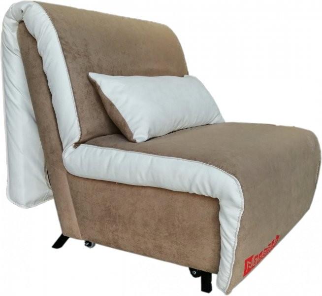 Fotelj z ležiščem Novelty - light brown