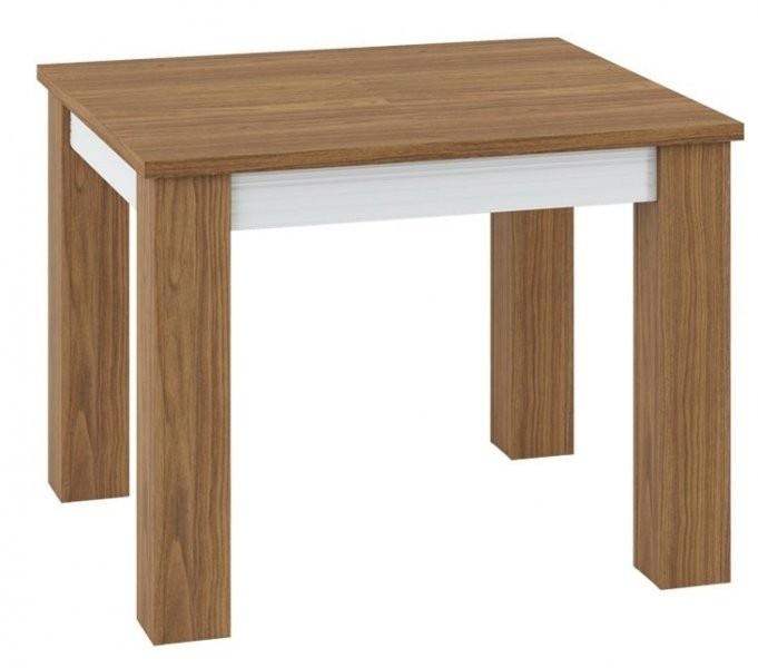 Raztegljiva miza Dallas 15 - bela, oreh