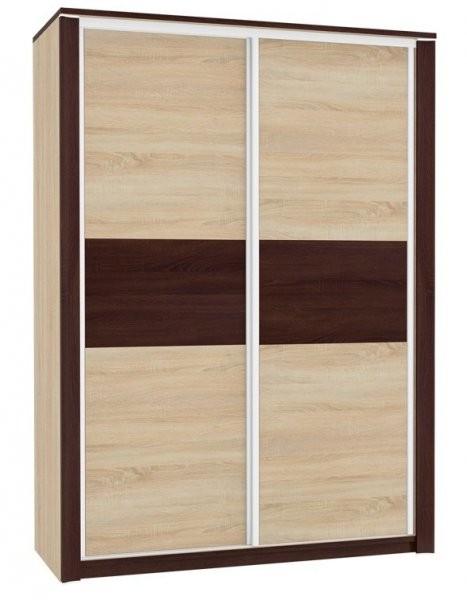 Garderobna omara z drsnimi vrati Oliwier 03/D NH