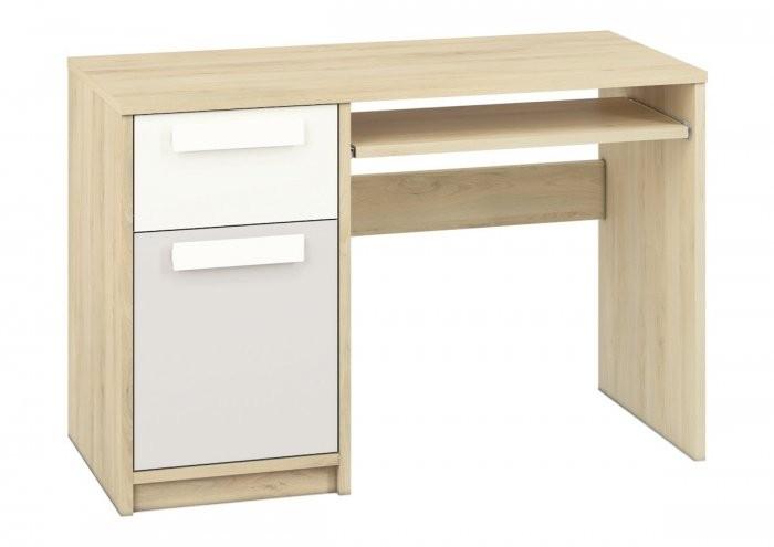 Pisalna miza Drop 14 - svetlo siva