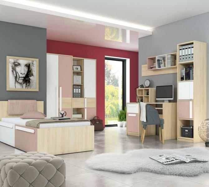 Mladinska soba Drop - roza