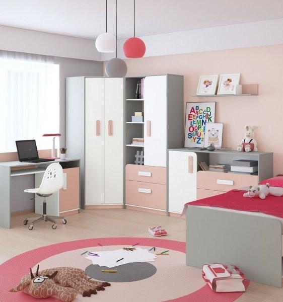 Mladinska soba IQ - roza