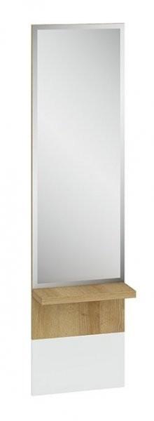 Obešalnik z ogledalom Gloss 09