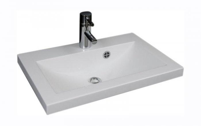 Kopalniški umivalnik bel