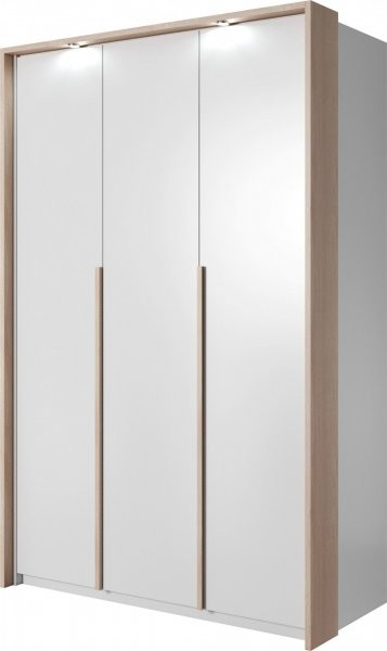 Garderobna omara Xelo 140 z okvirjem in led trakom