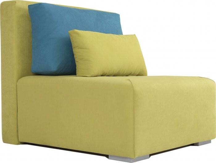 Fotelj z ležiščem Ambi - zelena+modra