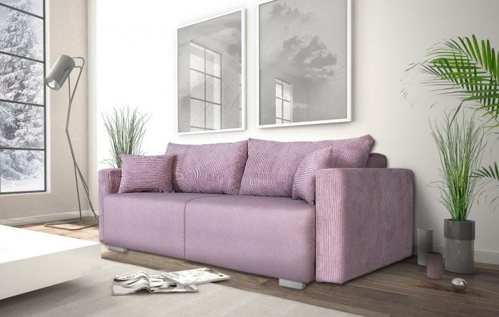 Kavč z ležiščem Nambia - roza