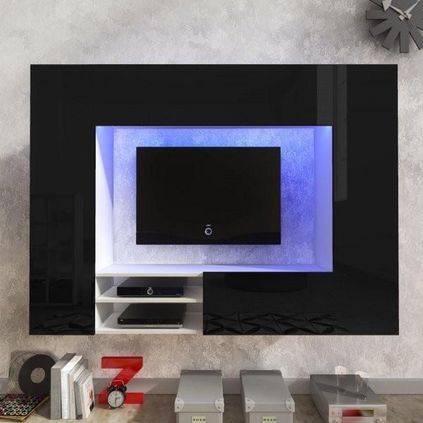 Regal Net - bela in visoki sijaj črna