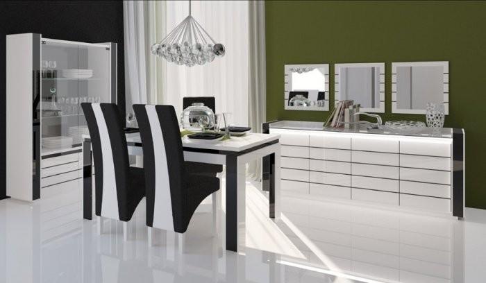 Dnevna soba in jedilnica Linn - bela