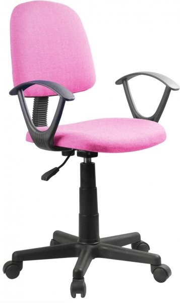 Pisarniški stol Fiona roza