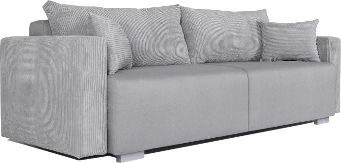 Kavč z ležiščem Nambia - siva