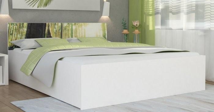 Dvižna postelja Panama plus graphic - 120x200 cm