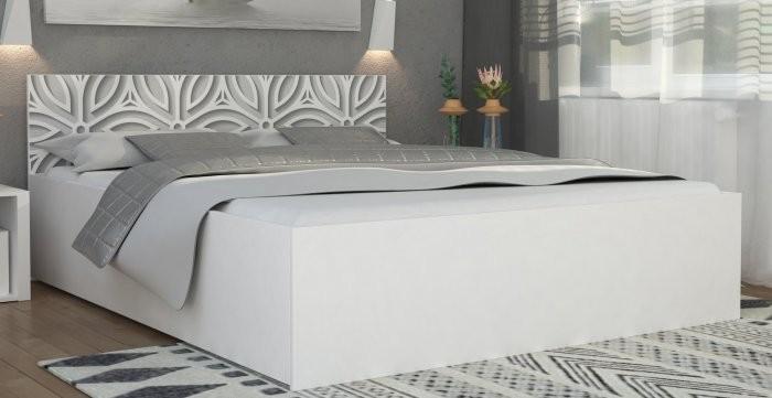 Dvižna postelja Panama plus graphic - 180x200 cm