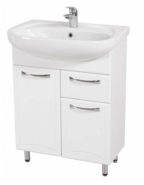 Omarica z umivalnikom Dekor - 65 cm talna