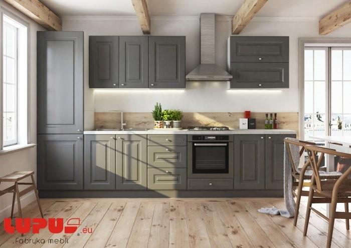 Kuhinjski sestav Bella graphite super mat - 3200