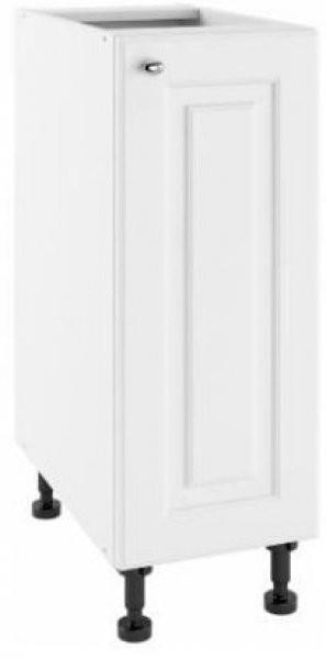 Modul Bella bianco super mat - PO 30 - spodnja omarica s polico