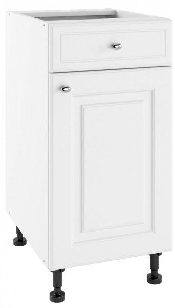 Modul Bella bianco super mat - 2 PSZ 40/1 - spodnja omarica s predalom