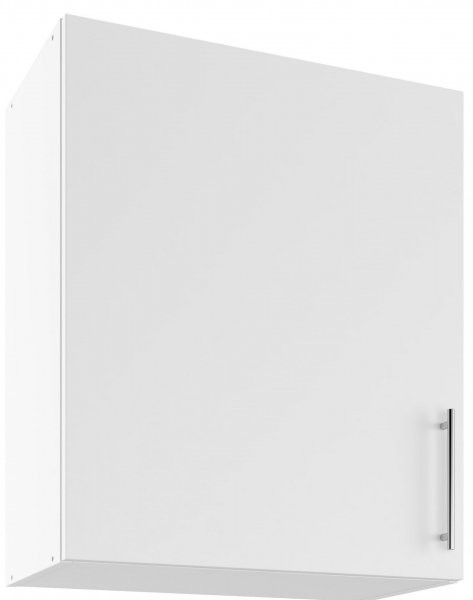 Modul Luna bianco super mat - UO 60 - zgornja omarica s polico