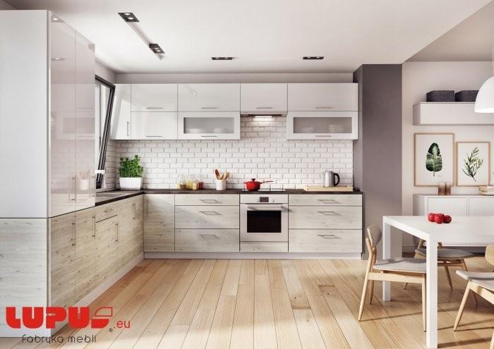 Kuhinjski blok Luna cortona - + Luna White