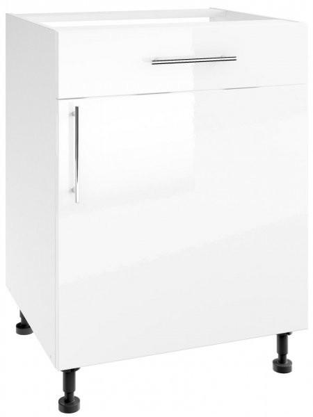 Modul Luna white - PSZ 60/1 - spodnja omarica s predalom