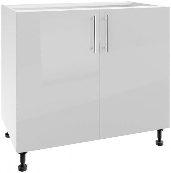 Modul Luna light grey - PO 100/2 - spodnja omarica s polico