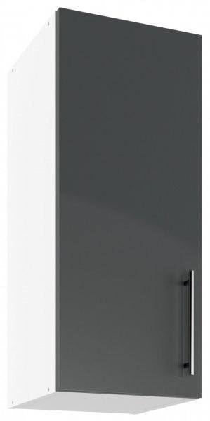 Modul Luna graphite - UO 30 - zgornja omarica s polico