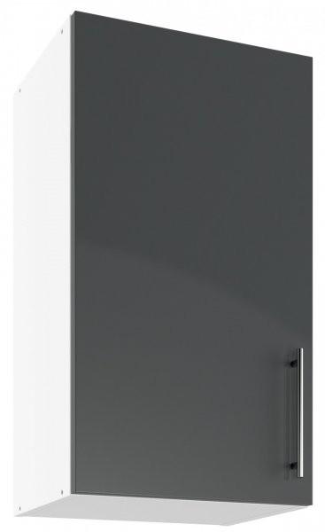 Modul Luna graphite - UO 40 - zgornja omarica s polico