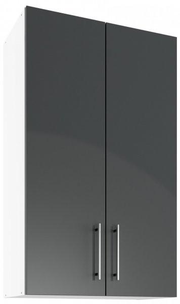 Modul Luna graphite - UHO 60/2 - zgornja omarica z dvema policama