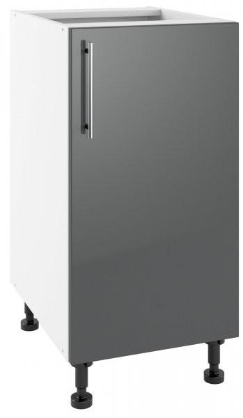 Modul Luna graphite - PO 40 - spodnja omarica s polico