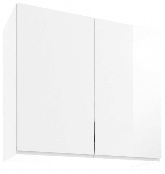 Modul Vegas white - UO 80/2 - zgornja omarica s polico