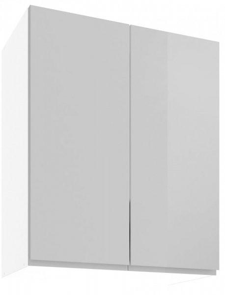 Modul Vegas light grey - UO 60/2 - zgornja omarica s polico