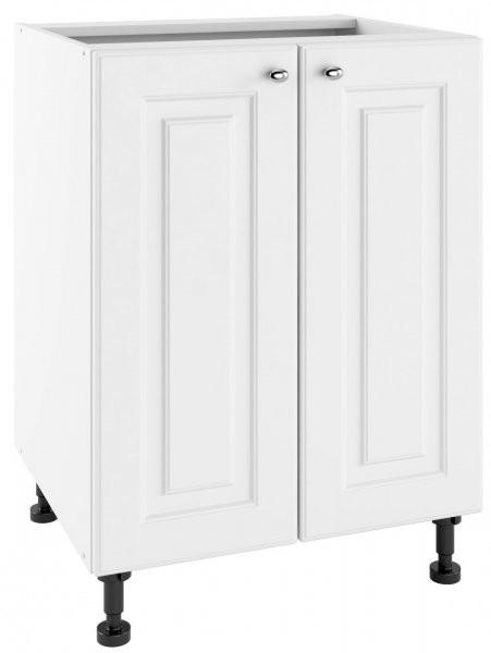 Modul Bella bianco super mat - PO 60/2 - spodnja omarica s polico