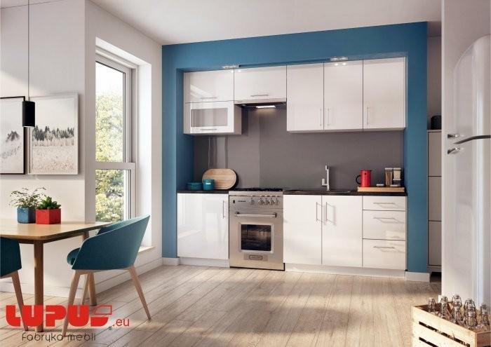 Kuhinja Luna white - vsi elementi