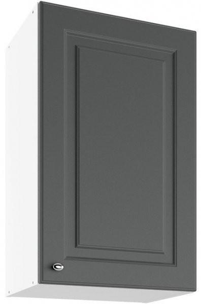 Modul Bella graphite super mat - UO 45 - zgornja omarica s polico