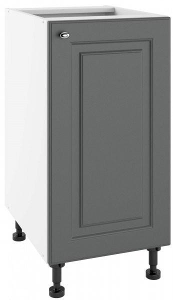 Modul Bella graphite super mat - PO 40 - spodnja omarica s polico