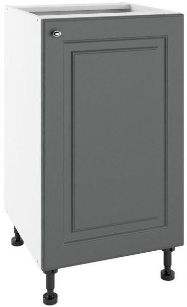 Modul Bella graphite super mat - PO 45 - spodnja omarica s polico