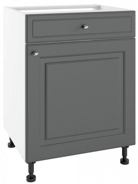 Modul Bella graphite super mat - PSZ 60/1 - spodnja omarica s predalom