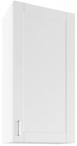 Modul Milano bianco super mat - UHO 50 - zgornja omarica z dvema policama
