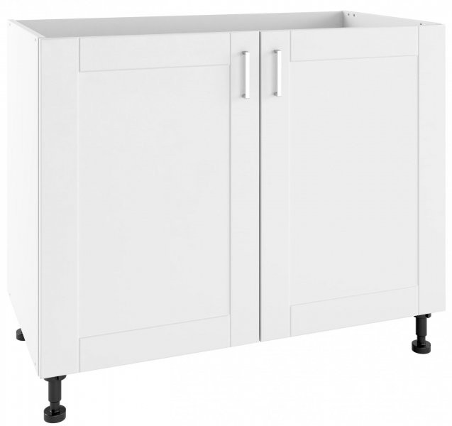 Modul Milano bianco super mat - PO 100/2 - spodnja omarica s polico