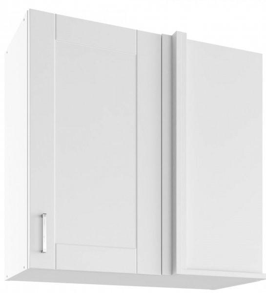 Modul Milano bianco super mat - UNPO 75 - zgornja kotna omarica s polico