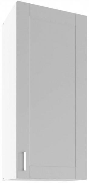 Modul Milano nube super mat - UHO 45 - zgornja omarica z dvema policama