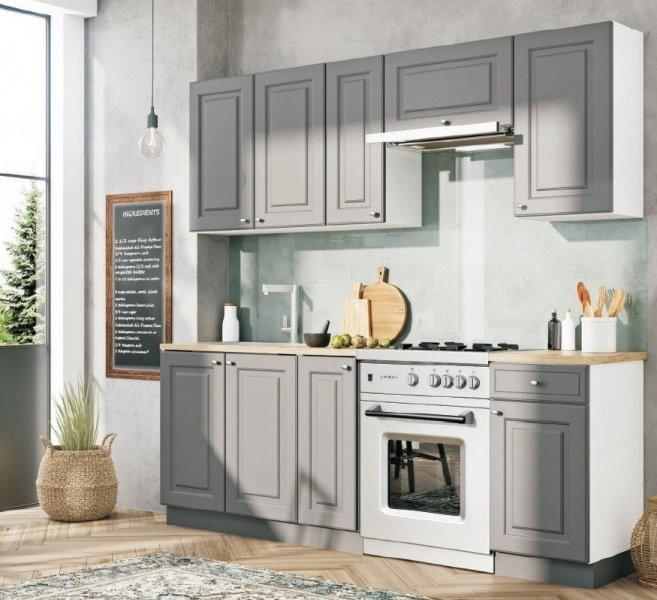 Kuhinjski sestav Bella Graphite 210