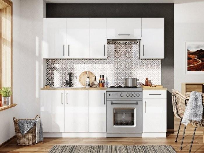Kuhinjski blok Luna white - 210