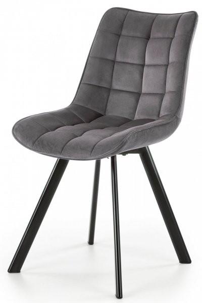 Jedilniški stol K332 - temno siv